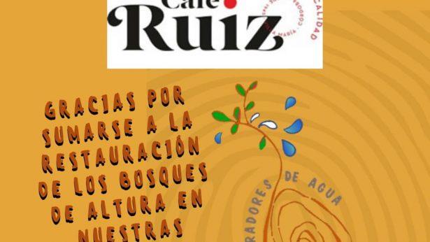 Donacion Cafe Ruiz Sembradores de Agua